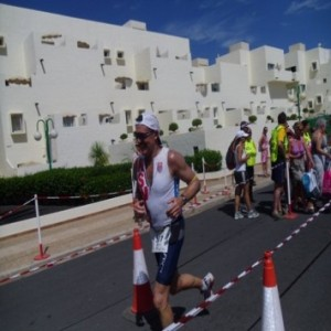 Geoff Taylor at 70.3, Lanzarote October 5th 2013