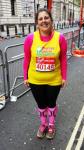 Marathon 2015 Ruth Walker after completing her second London marathon
