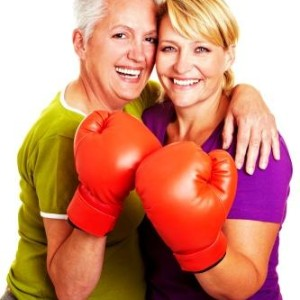 IMAGE - ladies fighting pain