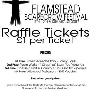 Flamstead 2017 raffle poster