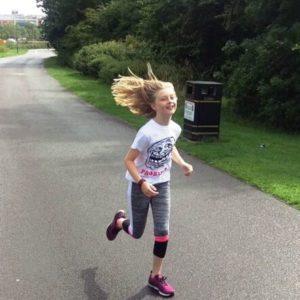 Maddie Delaney running