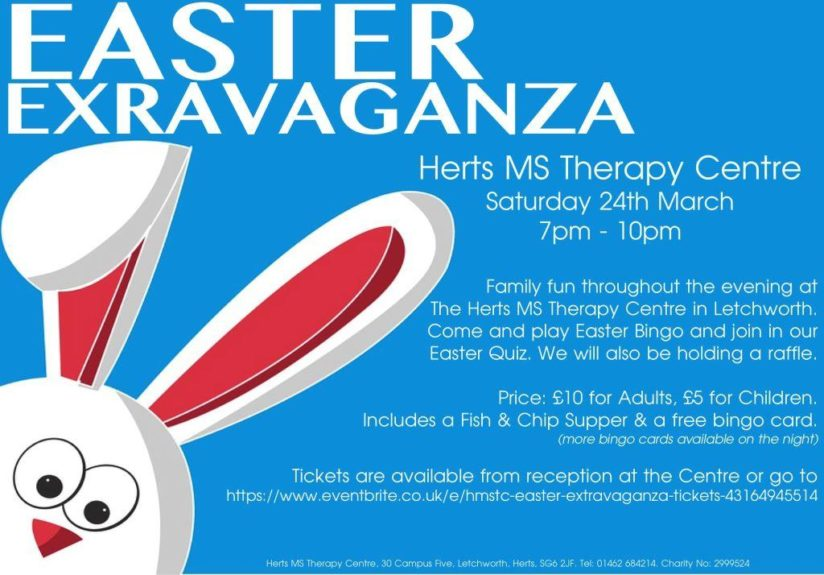 Poster for Easter Extravaganza event at HMSTC Saturday 24th March 2018