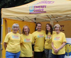 A group of HMSTC volunteers