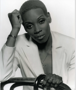 IMAGE: singer Ruth Green